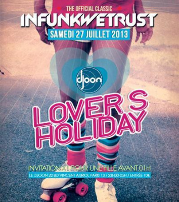 "INFUNKWETRUST ""Lover's Holiday"""