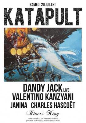 KATAPULT SUMMER BOAT avec DANDY JACK, VALENTINO KANZYANI et JANINA