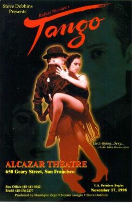 Tango, Salle Wagram, Danse