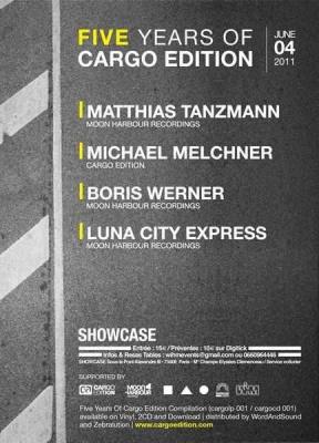 Cargo Edition, Matthias Tanzmann, Showcase, Soirée