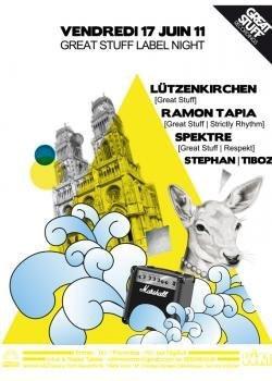 GREAT STUFF Label Night, Showcase, Soirée