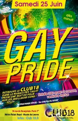 La Marche des fiertés, LGBT, Gay Pride, Mix Club