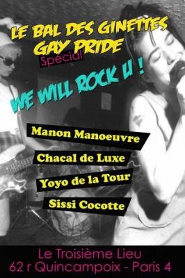 Gay Pride, Bal des Ginettes, Troisieme Lieu