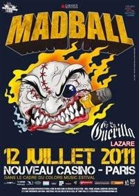 Madball, Lazare, Nouveau Casino, Concert