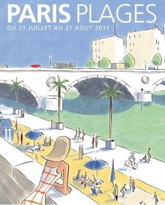 Paris Plages 2011, bords de seine, fnac concert gratuit
