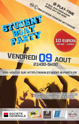 Student Boat Party