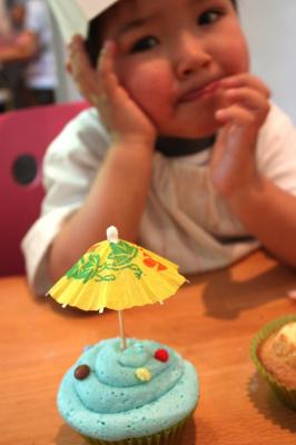un anniversaire pour enfant à paris, cake l'atelier