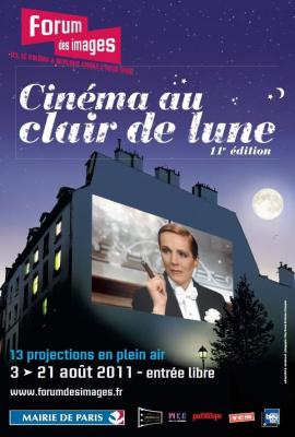 Forum des images, Cinéma au clair de lune, Cinéma en plein air