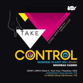 Take Control, Soirée, Nouveau Casino