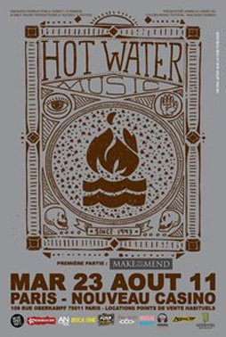Hot Water, Make do and Mend, Nouveau Casino, Concert