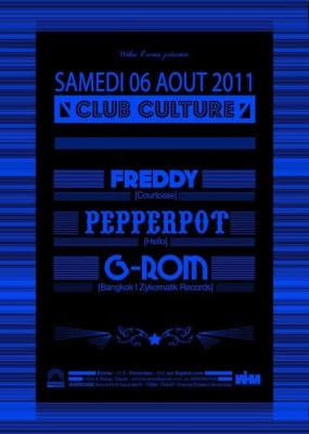 Club Culture, Showcase, Soirée