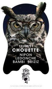 Chouette, Chez Moune, Jean Nipon, Soirée
