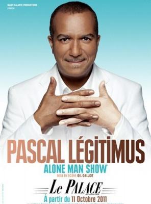 Pascal Légitimus, Alone man show, Palace, les Inconnus