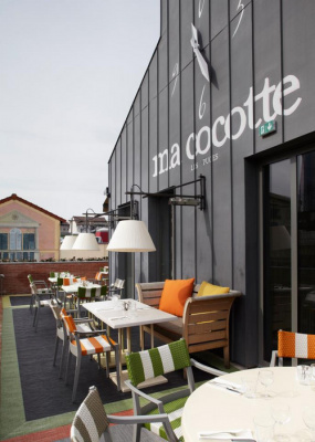 Ma cocotte by starck et sa terrasse - Ma cocotte rue des rosiers ...