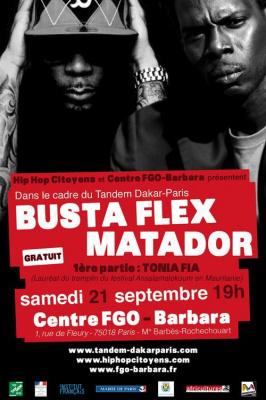 BUSTA FLEX (Fce) / MATADOR (Sen) + guests | 21 septembre