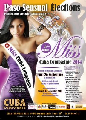 Election Miss Cuba 2014