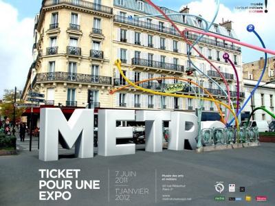 Musée des arts et métiers, exposition, Métro... Ticket pour une expo,