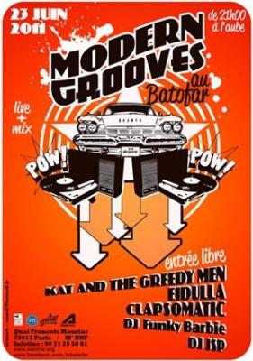 Batofar, Modern Grooves, soirée