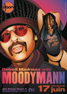 Moodymann, Djoon, soirée