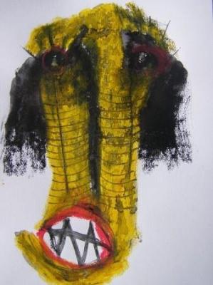 """Carte postale, galerie """"Espace 42"""", exposition"""