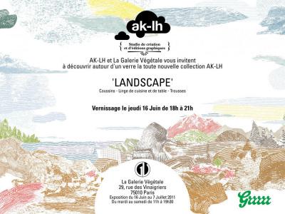 AK-LH, La Galerie Végétale, Landscape, exposition