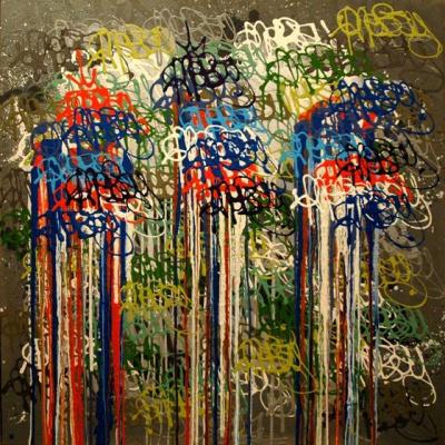 Nebay, Galerie Art Jingle Contemporary, exposition