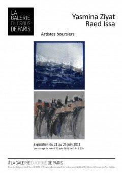 Galerie du Crous, Yasmina Ziyat, Raed Issa, exposition