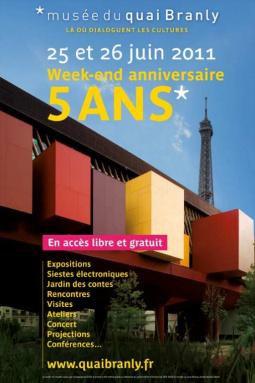 Musée du Quai Branly, anniversaire 5 ans