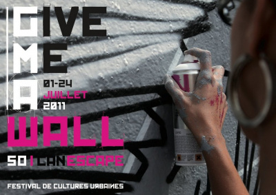 Give me a wall, so I can escape, festival de Cultures Urbaines
