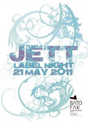Jett label night, soirée, Batofar
