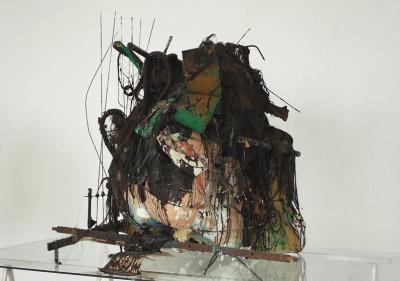 Peter Buggenhout, exposition, Contes Invertébrés, Galerie Laurent Godin