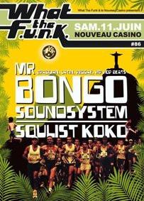 What the Funk #86, soirée, Nouveau casino
