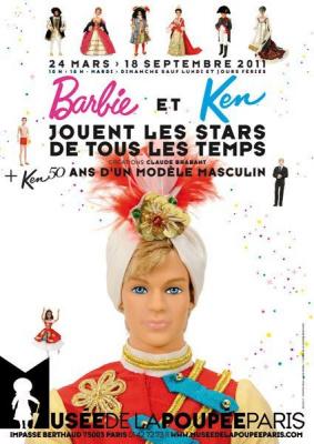 Barbie et Ken, Musée de la poupée, Claude Brabant