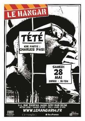 Charles Pasi, Tété, Le Hangar, concert