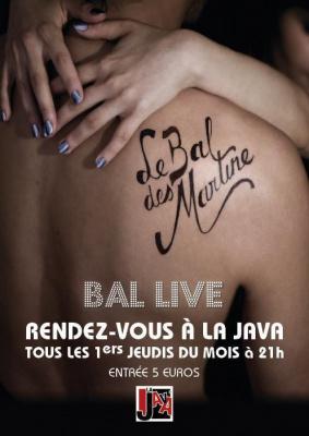 LE BAL DES MARTINE + DJ