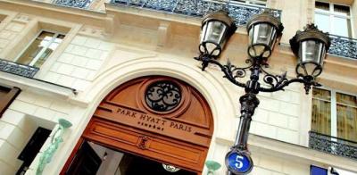 l'hôtel park hyatt paris vendome, palace