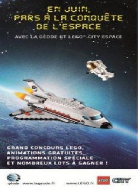 Pars à la conquête de l'Espace avec la Géode et Légo City Espace