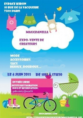 expo vente de créateurs maggdanella