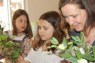 fête des mères Fleuriste en herbe