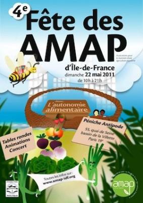 4e fête des amap 2011