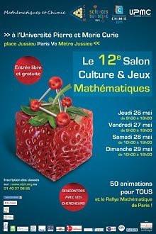 salon culture et jeux mathématiques 2011, sciences sur seine
