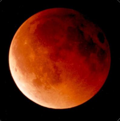 eclipse total de la lune, montmarte, parvis du sacré cœur, sciences sur seine