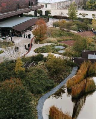 Jardin d'été 2014 au Musée du quai Branly