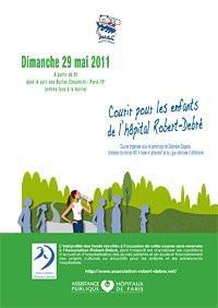 courir pour les enfants de l'hopital robert debré 2011, 2e édition