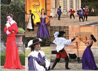 les héros de capes et d'épées de votre enfance, Zorro, le bossus, Les trois Mousquetaires, château de thoiry, spectacle de plein air