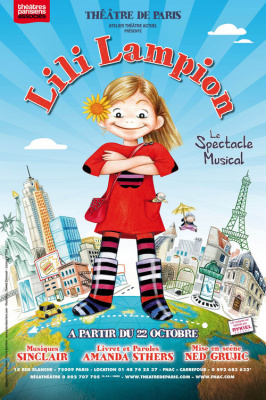 lili lampion au théâtre de paris, spectacle musical