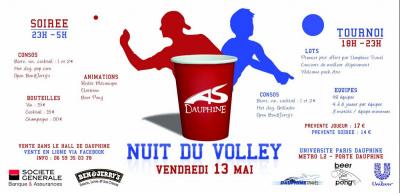 Nuit du volley, 2011, Université Paris Dauphine