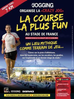Crazy Jog, Athlétisme, Stade de France, Course à pied
