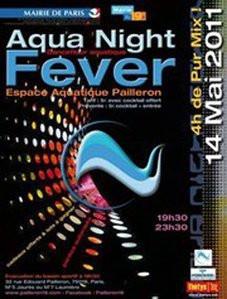 Soirée Aqua Night Fever, Espace Pailleron, Natation, Piscine