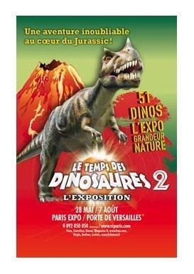 Le temps des dinosaures 2 est lanc - Parc des expositions de la porte de versailles ...